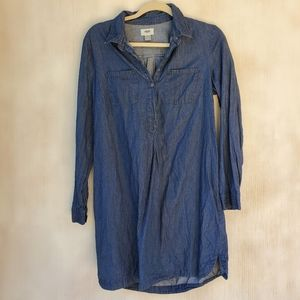 Old Navy Denim Blue Jean Dress